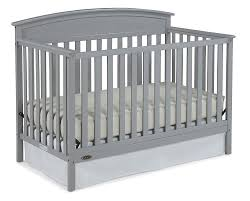 Amazon.com : Graco Benton 5-in-1 Convertible Crib Pebble Gray : Baby