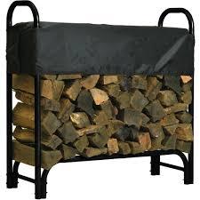 Roughneck Covered Firewood Rack  4ft.L, Model# 90350