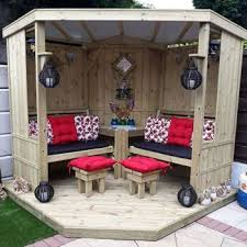 quality wooden garden arbours for