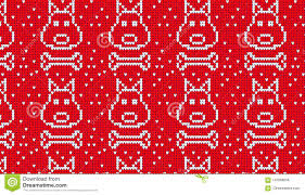 red dog bone background. Simple Bone Download Seamless Knitted Pattern With Dog And Bone Background Stock  Illustration  Of Repeat In Red Background R
