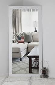 white full length mirror. Large Size Of Furniture, White Mirror Decorative Full Length Framed
