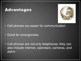 advantages and disadvantages of cell phones 2 bull the use of cell phones
