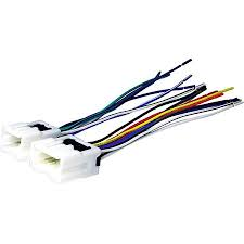 scosche nn03b 1995 up nissan car stereo wire harness connector for car radio stereo installation Car Stereo Wiring Colors at Wiring Harness For Car Stereo Walmart