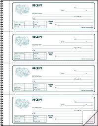 Hammond Stephens Kpg 3 Parts Carbonless Record Receipt Book 17 1