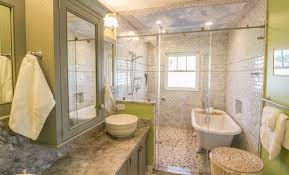 bathroom shower and tub. View In Gallery Bathroom Shower And Tub W