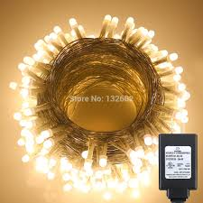 Golden Power Lights Us 26 07 20 Off 30m 100ft 300leds Fairy Pearl Led String Lights 8 Modes Warm White Waterproof Christmas Holiday Lights Us Eu Uk Adapter In Led