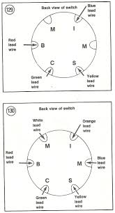 i need the wiring diagram for the ignition switch for a 1979 these are the wiring diagrams from the manual they use 2 different wiring diagrams