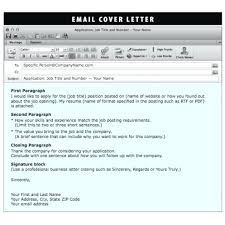 Email Cover Letter Subject Line Resume Sending A Resume Via Email Sample How To Send