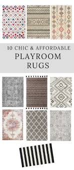 looking for a chic and affordable playroom rug here is a great roundup of some