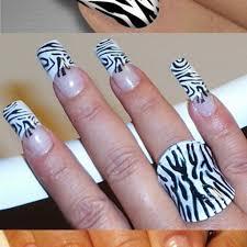 Zebra Nail Art Design…   Nails Life   hailslife.com