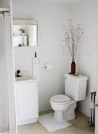 apartment bathrooms. Modren Apartment White Bathroom Decor Themerrythought In Apartment Bathrooms I