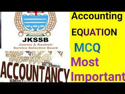 accounting equation mcq most important