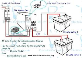 double battery inverter or ups connection rh atgroup24 blo com inverter wiring diagram for rv inverter wiring diagram for rv
