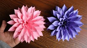 Pearl S Crafts Paper Flower Templates Paper Craft Flowers Pdf