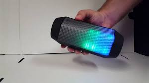Craig Lighted Bluetooth Tower Speaker Craig Electronics Color Changing Bluetooth Speaker Cma3594