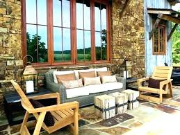 modern rustic patio furniture