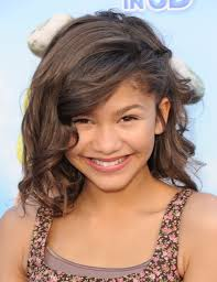 image of cute layered hairstyles um length hair