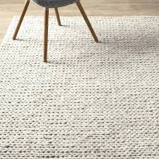 chunky wool rug street hand woven off white area reviews