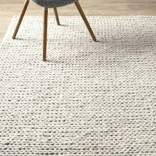 chunky wool rug street hand woven wool off white area rug reviews chunky wool jute rug