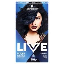 Live Intense Colour 090 Cosmic Blue Hair Dye