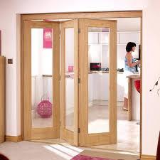 tri fold doors interior bi
