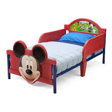 Mickey Mouse Bedroom Furniture Disney Mickey Mouse 3d Toddler Bed Disney Shops And Disney
