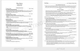 Resume Editing Service .