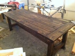 dining table that seats 10:  person farmhouse dining table by sawdustfurniture on etsy