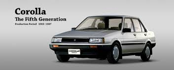Toyota Global Site | Corolla | The Fifth Generation_05