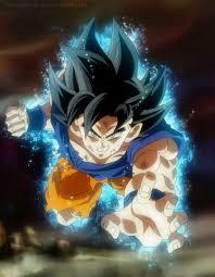 Goku Limit Breaker Light Poster Ultra Instinct Goku Dragonball Goku New Form Dragon Ball Z