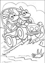 We4you2 Kleurplaten Van Muppet Babies Tv Serie