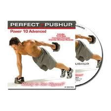 Power Of 10 Workout Chart Perfect Pushup Power 10 Advanced Dvd Pushup Stands Amazon