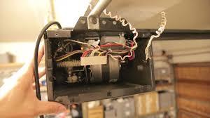liftmaster garage door opener repairLiftMaster Whisper Drive Garage Door Opener Repair Transformer
