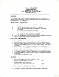 Lab Technician Resume Sample 100 medical laboratory technician resume Resume Cover Note 14