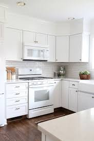 Kitchens with White Appliances Great Best Color for Kitchen