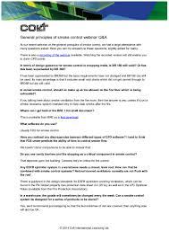 Smoke Control System Design General Principles Of Smoke Control Webinar Q A