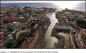Small Picture UPDATE New West Bridge and Retaining Wall Project Dominica News