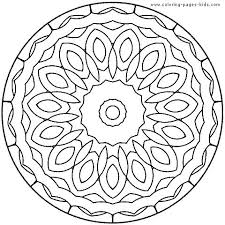 mandala coloring book children printable sheets abstract pages for kids throughout walmart s chi