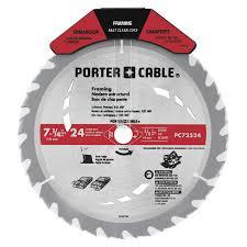 5 1 2 circular saw blade. porter-cable 7-1/4-in 24-tooth carbide circular saw 5 1 2 blade a