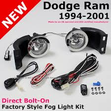 dodge ram 94 01 bumper clear fog lights lamps switch amp item condition new