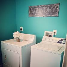 Paint Colors Turquoise Bright Beautiful Laundry Room Makeover Valspar Turquoise Tint
