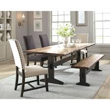 distressed dining table round extending dining room table and chairs world market table and
