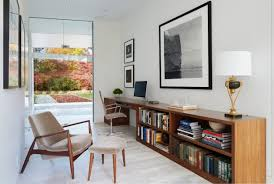 home office designs. Interesting Office 15 Inspirational Mid Century Modern Home Office Designs With