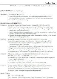 Sample Resume For Accounting Manager Pin By Topresumes On Latest Resume Sample Resume Resume Career
