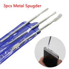 <b>3pcs</b> Universal <b>Metal</b> Spudger Mobile Phone Repair Tools Opening ...