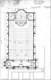 Church Blueprints Design Methodist Episcopal Ame Or Presbyterian Church Floor Plan