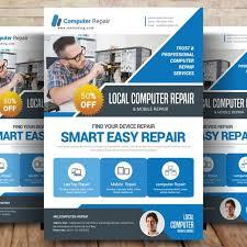 Computer Repair Flyer Template Iflypt Com
