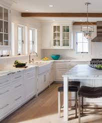 shiplap wall kitchen. kitchen with bleached hardwood floors plank walls. #kitchen #bleachedhardwood #bleachedflooring #plank shiplap wall