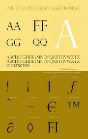 Perpetua Titling Light Perpetua Titling Mt Light Font Family Perpetua Titling Mt