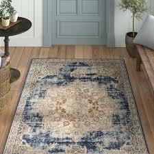 beige and blue rug power loom dark blue area rug montelimar beige blue area rug